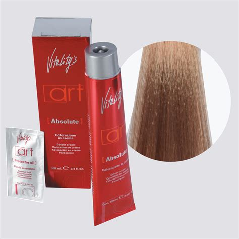 vitality hair colour plus 100ml art absolute 102 tawny ultrablonde vitality colour