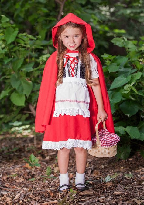 little red riding hood costumes adult kids red riding deluxe child little red riding hood costume