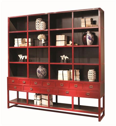 libreria roche bobois libreria a giorno in legno con cassetti jules collezione
