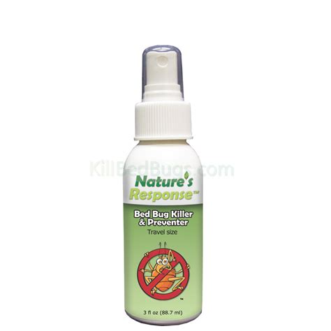 organic bed bug spray convenient natural pest control travel size bed bug spray