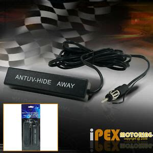 new universal car lified antenna kit 12v electronic stereo am fm radio ebay