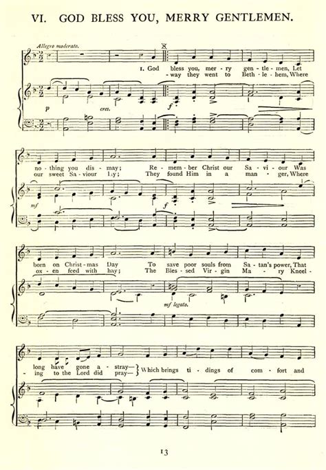 new year song pdf god rest you merry gentlemen version 1