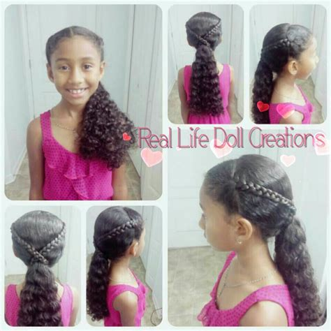 hair style doll for black real doll creations hairstyles for