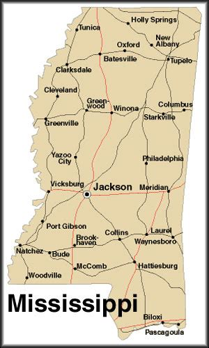 map  mississippi america maps map pictures