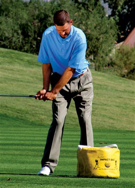 golf swing impact drills educate your hands golf tips magazine