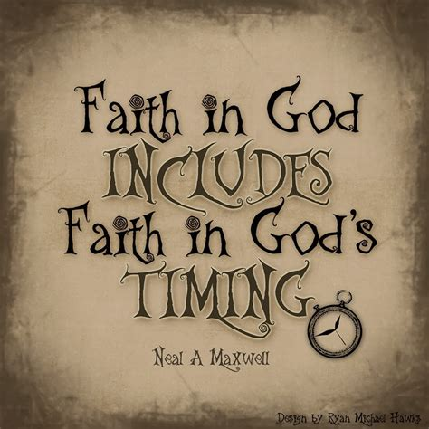 all that spam faith in god includes faith in god s timing