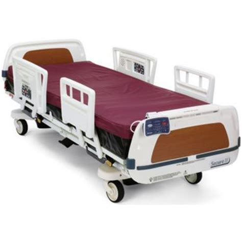 stryker hospital beds stryker secure ii hospital bed pad