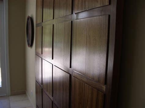 Walnut And Zebra Wood Hanging Door Interior Doors Los Hanging Interior Door