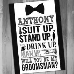 Groomsmen Invitations Groomsman Invitation Groomsmen Invitation Will You Be My
