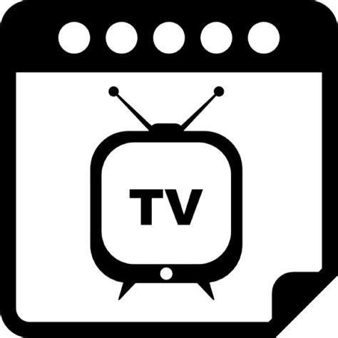 Tv Calendar Dia Programa Especial Tv Lembrete S 237 Mbolo Interface De