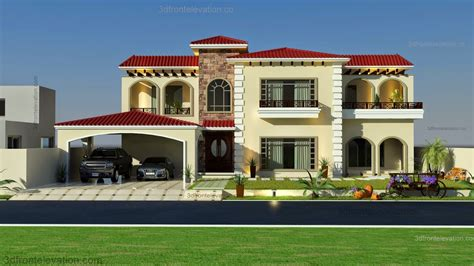 home design architecture pakistan 3d front elevation com beautiful mediterranean house