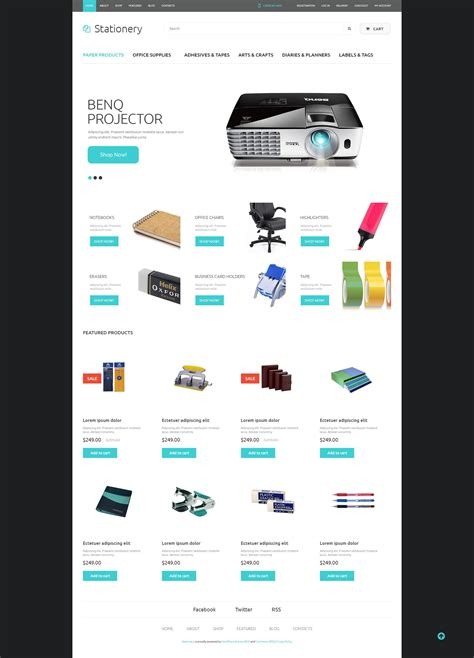 office supplies woocommerce theme 52154