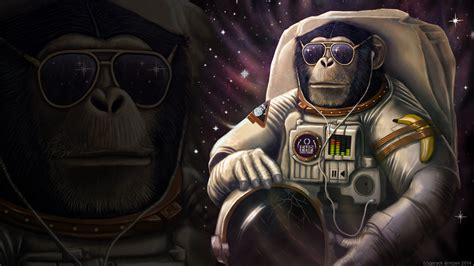 banana wallpaper abstract 3d monkey sunglasses astronaut wtf banana wallpaper