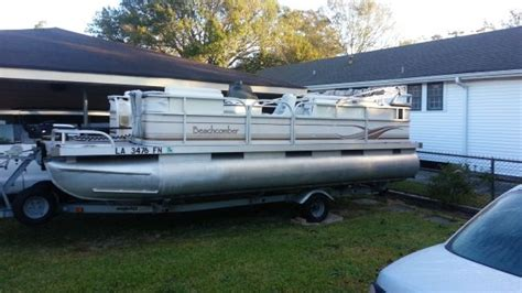 pontoon boats for sale new orleans beachcomber pontoon boats for sale