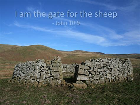 I Am The Door Of The Sheep by How In The World I Am The Gate 10 1 10 Refracted