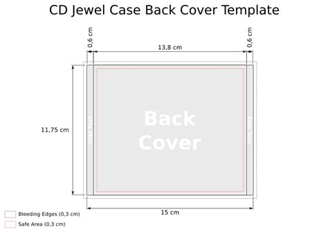 Cd Template Jewel Case Back Heath Park Group 1 Cd Template Word