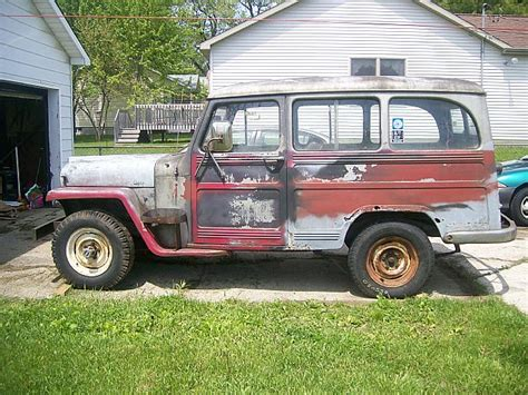 jeep wagon for sale 1951 willys wagon 4x4 for sale holt michigan