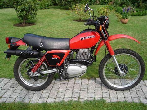 Xl 500 R Aufkleber by Honda Xl500