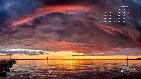 wallpaper for desktop 2017 june 2017 calendar desktop wallpaper sunset over lake