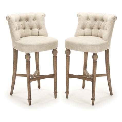 tufted amelie bar stools old provence