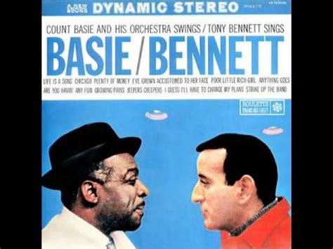 basie swings bennett sings tony bennett and count basie i ve grown accustomed to