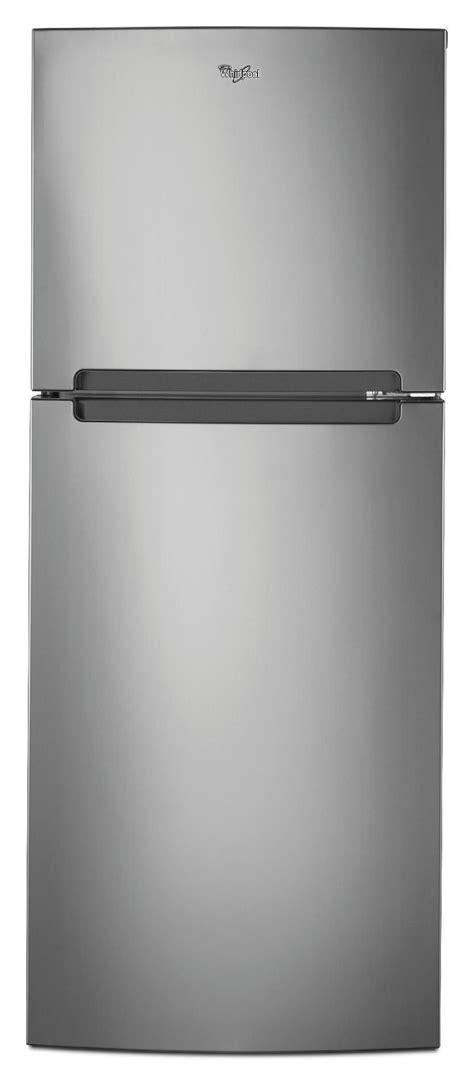 top 10 best door refrigerators whirlpool wrt111sfaf 10 7 cu ft top freezer