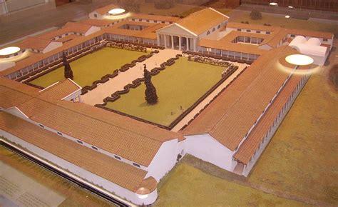 Fishbourne Roman Palace Floor Plan file fishbourne model jpg wikimedia commons