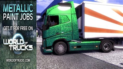 volvo trucks jobs euro truck simulator 2 metallic paint jobs dlc the new