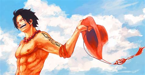 one piece ace one piece ace wallpaper pics 10542 hd wallpaper site