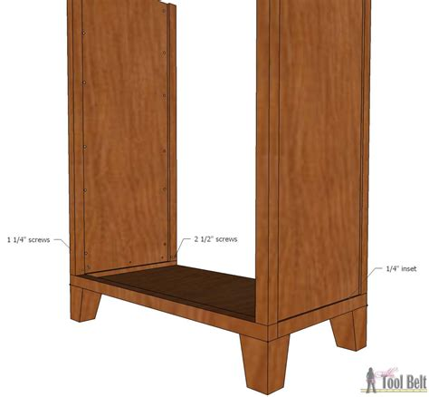 Dresser With Legs by Dresser With Tapered Legs Tool Belt