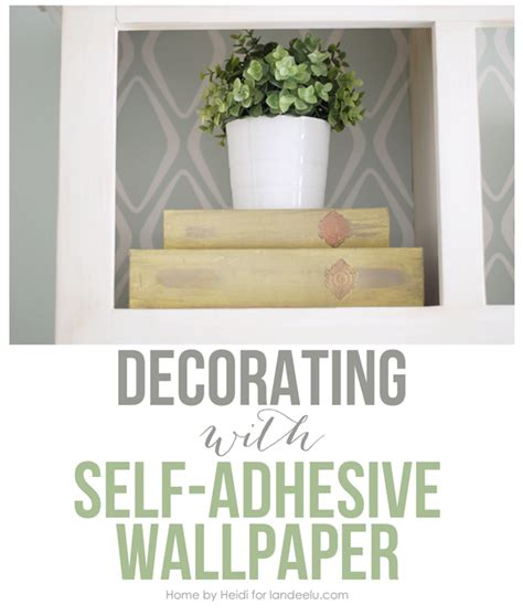 adhesive wallpaper decorating with self adhesive wallpaper landeelu com