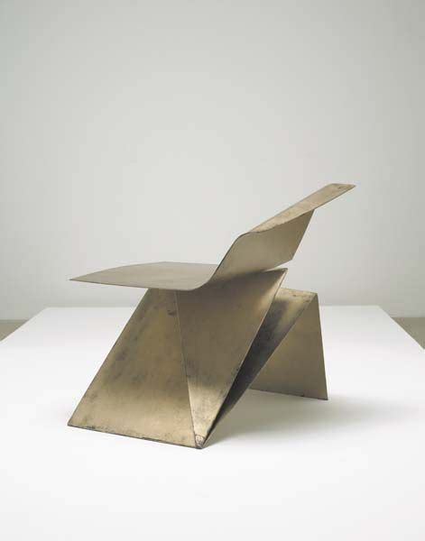 Furniture Origami - origami chair philip michael wolfson furniture