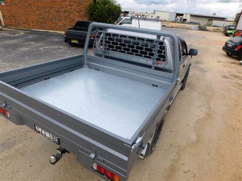 futon ute ute tray silver hilux dual cab sapphire city engineering