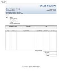 Sales Receipts Template Free Sales Receipt Template Images