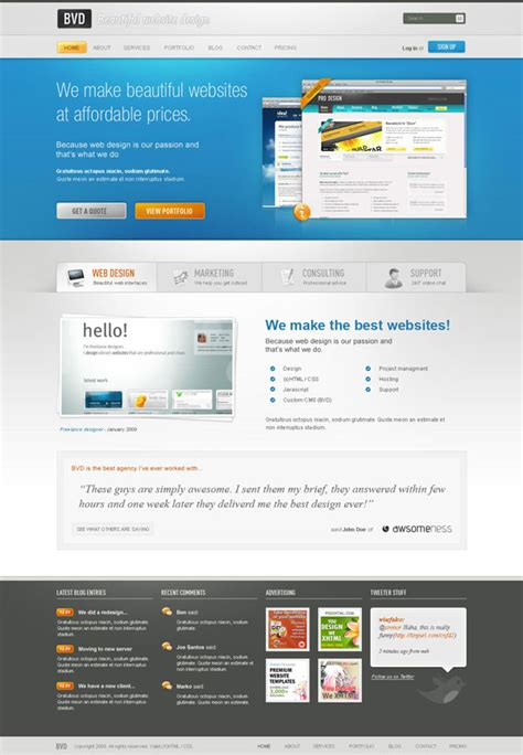 beautiful website design a beautiful website from scratch