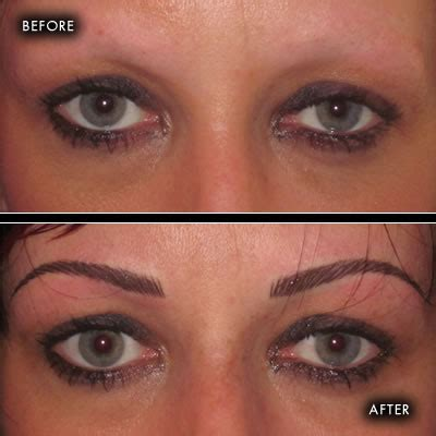tattoo eyebrows ireland before and after photographs semi permanent make up