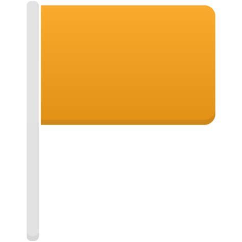 design icon orange flag orange icon flatastic 9 iconset custom icon design