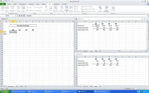excel reference another sheet in formula indirect ms