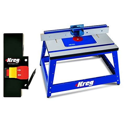 kreg prs2100 bench top router table w prs3100 router