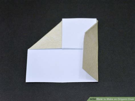 10 Step Origami - how to make an origami chair