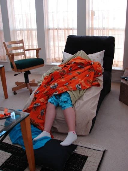 Sleeping In Living Room 2010 01 03 Shopping Driving Traveling