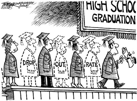 how to dropout of college dropout cartoon says it all california dreamin by rob