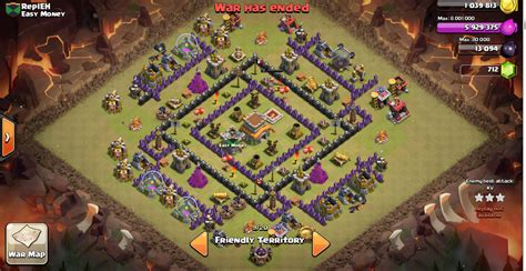 layout coc th 6 anti naga base war terbaik th 8 anti hog dan dragon