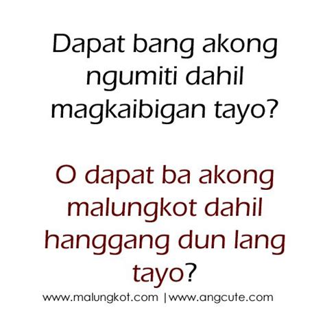 Hugot Quotes Best 25 Hugot Quotes Ideas On Hugot Quotes