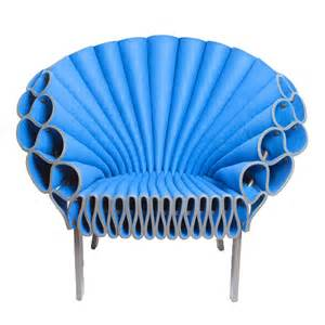furniture modern armchair the cappellini peacock chair