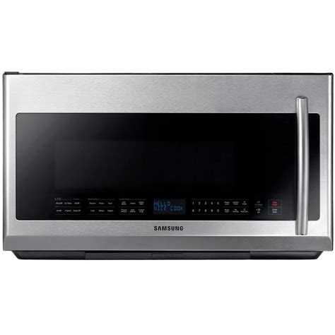 Microwave Oven Merk Samsung samsung 30 in 2 1 cu ft the range microwave in