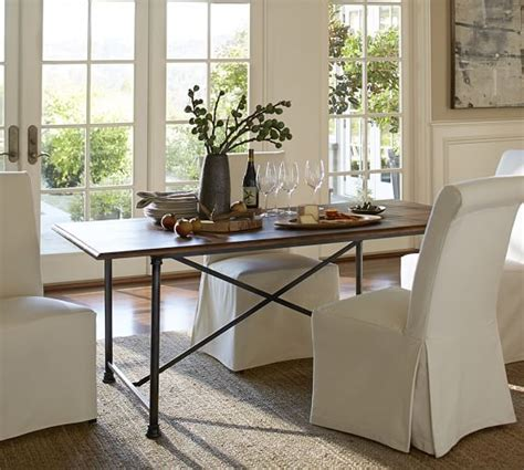 pottery barn dining room table fixed dining table pottery barn