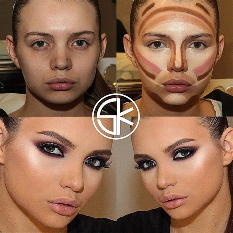 Tutorial Professional Makeup Techniques 3 by Makeup Tips With Makeup Contouring Tutorial With