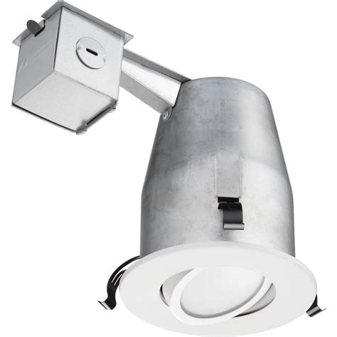 lithonia recessed lighting reviews lithonia lighting 4 in matte white recessed led gimbal