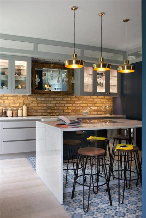 White Washed Oak Cabinets Pictures Brass Kitchen Lighting We Shine A Light On Its Comeback